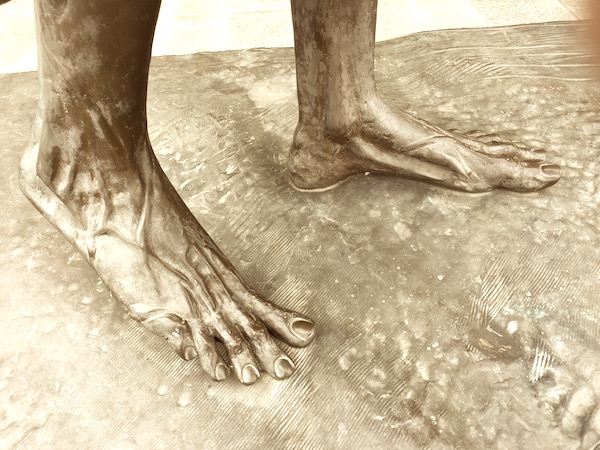 Picture of feet